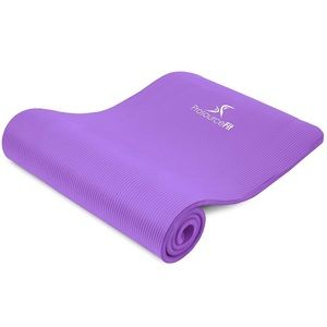 Yoga Mat 1/2-inch Extra Thick for Exercise